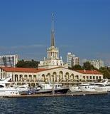 κεντρικός σταθμός του Sochi π&rh Στοκ εικόνες με δικαίωμα ελεύθερης χρήσης