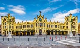 Κεντρικός σταθμός, Plaza del Toros, Βαλένθια, Ισπανία Στοκ Εικόνες