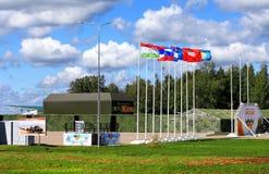 Κεντρικός τομέας του κέντρου στρατιωτικής εκπαίδευσης Στοκ φωτογραφία με δικαίωμα ελεύθερης χρήσης