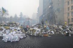 Κεντρικός του Κίεβου Αρχή του εμφύλιου πολέμου Στοκ εικόνες με δικαίωμα ελεύθερης χρήσης