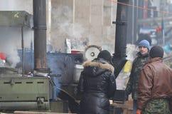 Κεντρικός του Κίεβου Αρχή του εμφύλιου πολέμου Στοκ Φωτογραφίες