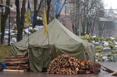 Κεντρικός του Κίεβου Αρχή του εμφύλιου πολέμου Στοκ Εικόνες