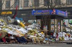 Κεντρικός του Κίεβου Αρχή του εμφύλιου πολέμου Στοκ Εικόνα