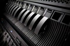 κεντρικός υπολογιστής ραφιών SAN κεντρικών στοιχείων Στοκ Φωτογραφία