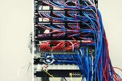 Κεντρικός υπολογιστής σε ένα ουδέτερο υπόβαθρο στοκ φωτογραφία