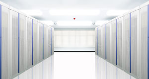 κεντρικός υπολογιστής &de Στοκ εικόνα με δικαίωμα ελεύθερης χρήσης