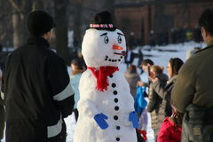 κεντρικός χειμώνας πάρκων Στοκ Φωτογραφίες