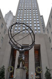 Κεντρικό άγαλμα Rockefeller στοκ φωτογραφία με δικαίωμα ελεύθερης χρήσης