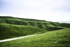 Πράσινο βουνό στοκ φωτογραφίες