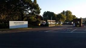 Κεντρικό γραφείο Milton Keynes της VW Στοκ φωτογραφία με δικαίωμα ελεύθερης χρήσης