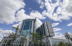 Κεντρικό γραφείο Sberbank στη Μόσχα, Ρωσία Κεντρικό κεντρικό γραφείο Στοκ φωτογραφία με δικαίωμα ελεύθερης χρήσης