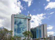 Κεντρικό γραφείο Sberbank στη Μόσχα, Ρωσία Κεντρικό κεντρικό γραφείο Στοκ Εικόνα