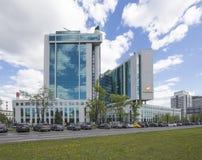 Κεντρικό γραφείο Sberbank στη Μόσχα, Ρωσία Κεντρικό κεντρικό γραφείο Στοκ φωτογραφίες με δικαίωμα ελεύθερης χρήσης