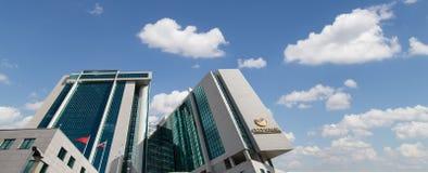 Κεντρικό γραφείο Sberbank στη Μόσχα, Ρωσία Κεντρικό κεντρικό γραφείο Στοκ Φωτογραφία