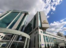 Κεντρικό γραφείο Sberbank στη Μόσχα, Ρωσία Στοκ Φωτογραφίες