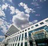 Κεντρικό γραφείο Sberbank στη Μόσχα, Ρωσία Στοκ εικόνες με δικαίωμα ελεύθερης χρήσης