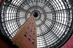 Κεντρικό εμπορικό κέντρο της Μελβούρνης Στοκ Εικόνες