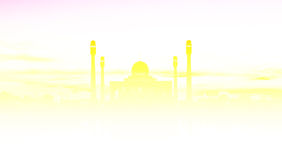 κεντρικό ηλιοβασίλεμα μ&om Στοκ Φωτογραφία