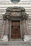 κεντρικό ιστορικό παλάτι Περούτζια Στοκ φωτογραφία με δικαίωμα ελεύθερης χρήσης