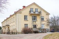 Κεντρικό κτίριο από το ησυχαστήρηο Angsbacka Στοκ φωτογραφία με δικαίωμα ελεύθερης χρήσης