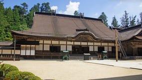 Κεντρικό κτίριο του ναού Kongobuji σε Koyasan, Ιαπωνία Στοκ εικόνα με δικαίωμα ελεύθερης χρήσης