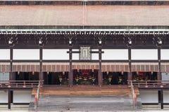 Κεντρικό μέρος του μετώπου της αίθουσας Shishinden Στοκ Φωτογραφίες