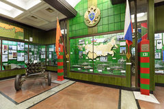 Κεντρικό μουσείο των στρατευμάτων συνόρων Στοκ Εικόνες