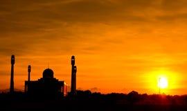 Κεντρικό μουσουλμανικό τέμενος Στοκ Εικόνες