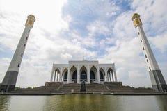 Κεντρικό μουσουλμανικό τέμενος Songkhla, Ταϊλάνδη Στοκ εικόνα με δικαίωμα ελεύθερης χρήσης