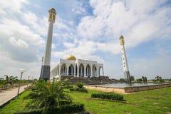 Κεντρικό μουσουλμανικό τέμενος Songkhla, Ταϊλάνδη Στοκ Φωτογραφίες
