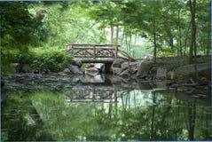 κεντρικό πάρκο γεφυρών Στοκ Φωτογραφία