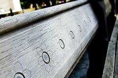 κεντρικό πάρκο πάγκων Στοκ Εικόνα