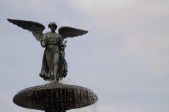 κεντρικό πάρκο πηγών bethesda Στοκ εικόνες με δικαίωμα ελεύθερης χρήσης
