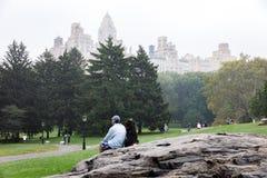 Κεντρικό πάρκο σε NYC Στοκ Φωτογραφίες