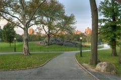 κεντρικό πάρκο φθινοπώρο&upsilon Στοκ φωτογραφία με δικαίωμα ελεύθερης χρήσης
