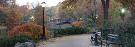 κεντρικό πάρκο gapstow γεφυρών Στοκ εικόνα με δικαίωμα ελεύθερης χρήσης