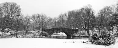 κεντρικό πάρκο gapstow γεφυρών Στοκ Εικόνες