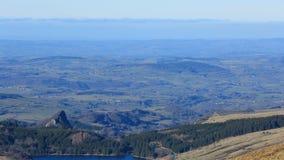 Κεντρικό πανόραμα ορεινών όγκων απόθεμα βίντεο