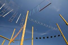 κεντρικό σχοινί Στοκ φωτογραφίες με δικαίωμα ελεύθερης χρήσης