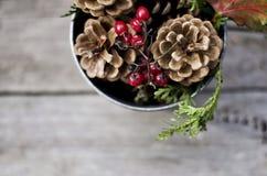 Κεντρικό τεμάχιο Χριστουγέννων Στοκ φωτογραφία με δικαίωμα ελεύθερης χρήσης