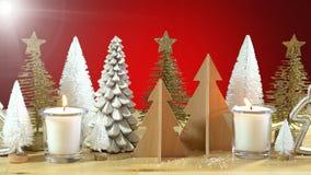 Κεντρικό τεμάχιο χριστουγεννιάτικων δέντρων Στοκ Εικόνες