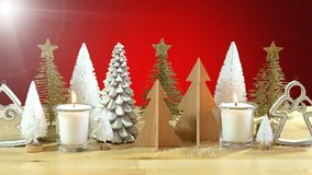 Κεντρικό τεμάχιο χριστουγεννιάτικων δέντρων Στοκ φωτογραφίες με δικαίωμα ελεύθερης χρήσης