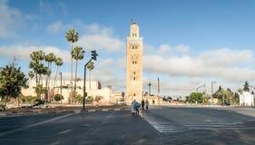 Κεντρικό τετράγωνο του Μαρακές στοκ φωτογραφία με δικαίωμα ελεύθερης χρήσης