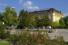 Κεντρικό τετράγωνο Plovdiv Στοκ Εικόνες