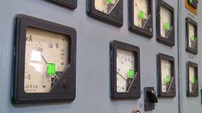 Κεντρικό τηλεφωνικό κέντρο στο σταθμό θερμότητας φιλμ μικρού μήκους