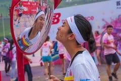 Κεντρικό χρώμα έκθεσης Chongqing που οργανώνεται στους νέους Στοκ Φωτογραφία