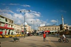 Κεντρικό plaza στην πόλη Jipijapa, παράκτια Στοκ εικόνα με δικαίωμα ελεύθερης χρήσης