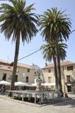 Κεντρικό plaza Cambados Στοκ Εικόνες