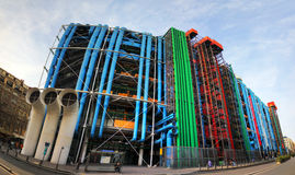 κεντρικό pompidou Στοκ εικόνες με δικαίωμα ελεύθερης χρήσης