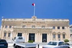 κεντρικό valletta της Μάλτας τραπεζών Στοκ φωτογραφία με δικαίωμα ελεύθερης χρήσης
